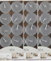 40x geurgeurkaarsen musk grijs 3 5 branduren